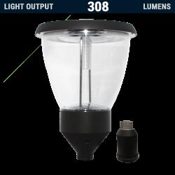 PL14 Solar 4W LED Post / Column Top Light (Without Column)