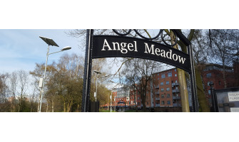 SL12 Solar LED Street Light Systems - Angel Meadow Park, Old Mount Street, Manchester