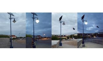 SL15 Solar LED Street Lights – Felpham Promenade, West Sussex
