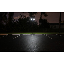 PL15 Solar 4W+4W LED Post / Column Top Light (Without Column)