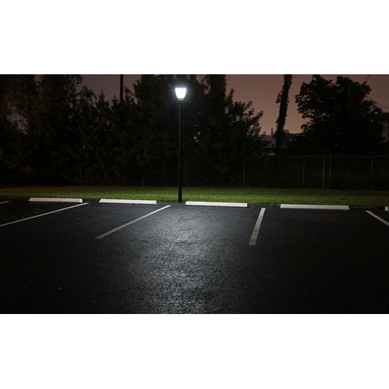 PO10 Solar 4W LED Lamp Post Light (With Column)