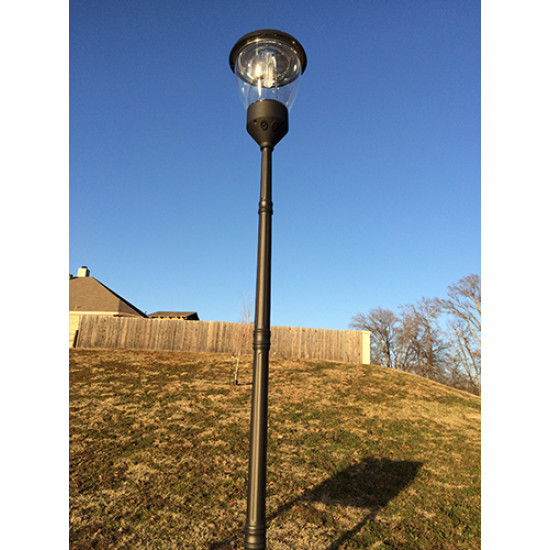 PL14 Solar 51 LED Post / Column Top Light (Without Column)