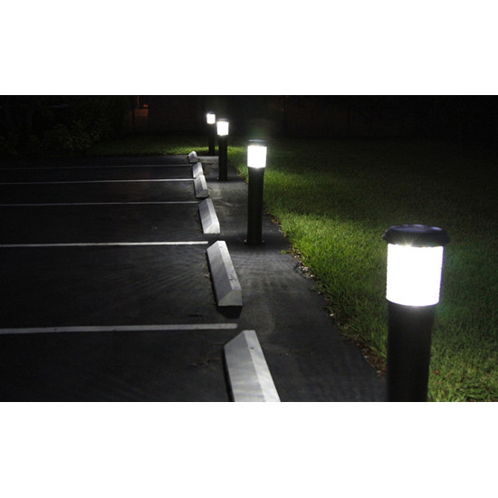 BC13 Solar LED Bollard Light