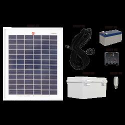 FL100 Solar LED Light Bulb Conversion Basic System (1 3W Fitting)