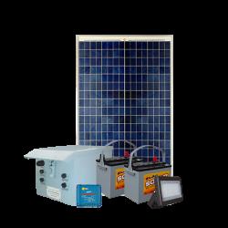 FL10 Solar 5W/10W/20W/30W LED Sign Light System (1 Lamp Kit)
