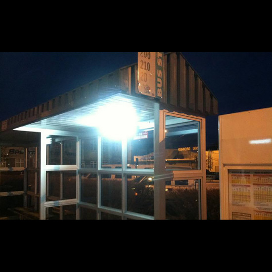 FL20 Solar Bus Shelter Light System (3 or 4 Lamp Kit)