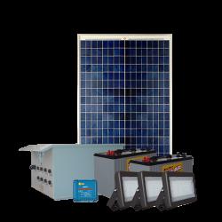 FL25 Solar 5W/10W/20W/30W LED Sign Light System (3 Lamp Kit)