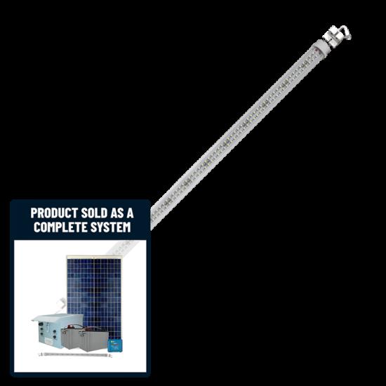 FL28 Solar 10W LED Sign Light System (1-4 Lamp Kit)