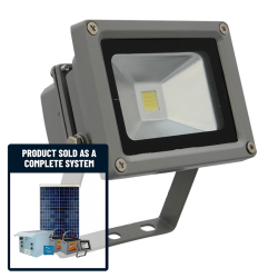 FL60 Solar LED Mini Flood Light System (1-4 Lights, White or RGB)