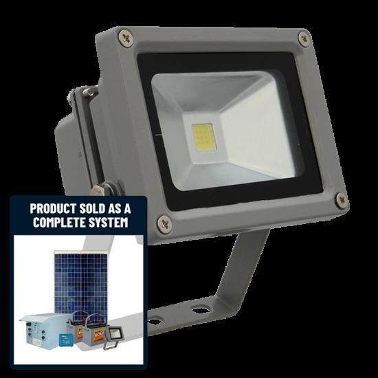 FL60 Solar 10W LED Sign Light System (1 Lamp Kit)