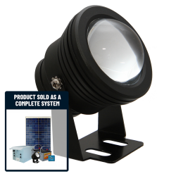 FL70 Solar LED Spot Light Basic System (1 Lamp Kit)