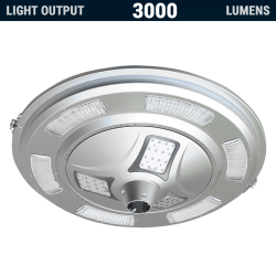 PL13 Solar 30W LED All-In-One Area Light (Without Column)