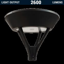 PL23 SOLAR 20W LED LAMP POST LIGHT (WITHOUT COLUMN)