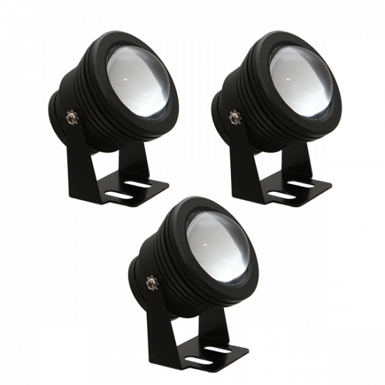 FL73 Solar LED Spot Light System (3 Lamp Kit)