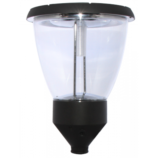 PO04 Solar 4W LED Lamp Post Light (With Standard Sectional Column)
