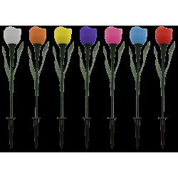 PP02 Solar Tulip Flower Light