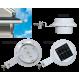 PP03 Solar Gutter / Fence / Wall Light