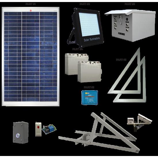 AL01 Solar 144 LED Arena Light (1 or 2 Lamp Kit)
