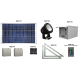 FL72 Solar LED Spot Light System (2 Lamp Kit)