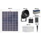 FL80 Solar 3W LED Sign Light System (1 Lamp Kit)