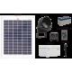 FL80 Solar LED Sign Mini Spot Light Basic System (1 Lamp Kit)