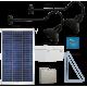 FL91 Solar 3W LED Sign Light System (2 Lamp Kit)