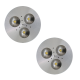 SH02 Solar LED Bus Shelter Light (2 Lamp Kit)