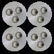 SH04 Solar LED Bus Shelter Light (4 Lamp Kit)