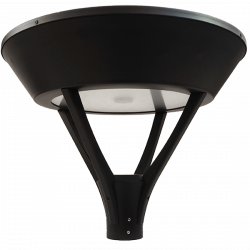 PO23 SOLAR 20W LED LAMP POST LIGHT (WITH COLUMN)