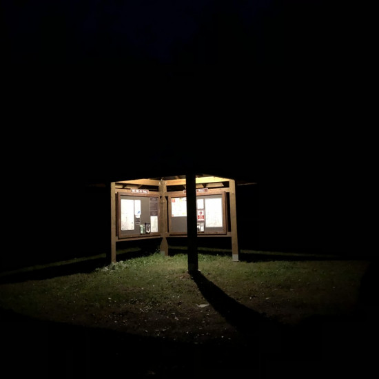 SH01 Solar LED Bus Shelter Light (1 Lamp Kit)