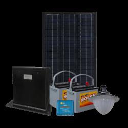 SL15 Solar 10W-18W LED Area Light (With Column)