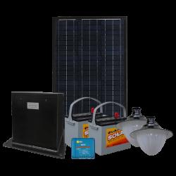 SL22 Solar Double 10W LED Street / Car Park / Area Light (With Column)