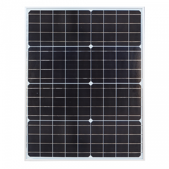 SL33 Solar 20W-30W All-In-Two LED Area Light (With Column)
